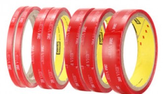 3M RED ACRYLIC TAPE